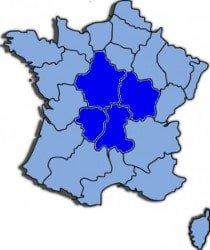 kaart-van-frankrijk-mid-klein