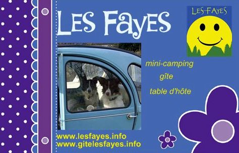 Mini-camping & Gîte LES FAYES
